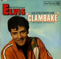 Elvis Presley - Clambake (SF 7917)  Orange Label Ex/M-